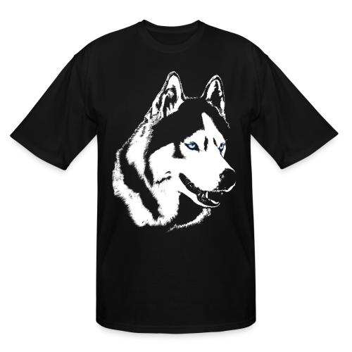 Siberian Husky T-Shirts Husky / Malamute Plus Size T-shirts  - Men's Tall T-Shirt