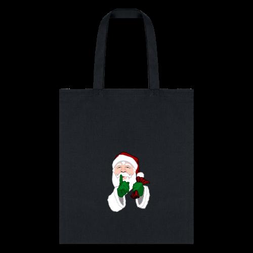 Santa Christmas Bags Cute Santa Clause Tote Bags - Tote Bag