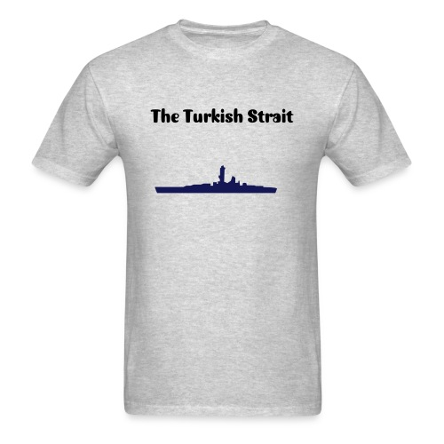 The Turkish Strait Axis and Allies men's T-Shirt - Men's T-Shirt