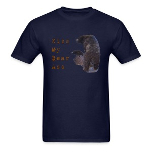 Kiss My Bear Ass - Men's T-Shirt