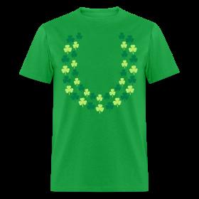 Hawaiian Irish Shamrock Lei (St. Patrick's Day) Shirt ~ 351