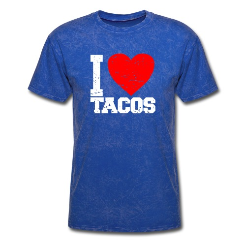 I love tacos t-shirt - Men's T-Shirt