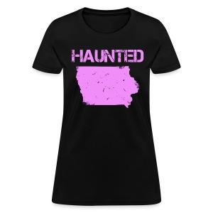 Women's Haunted Iowa T-Shirt - Women's T-Shirt