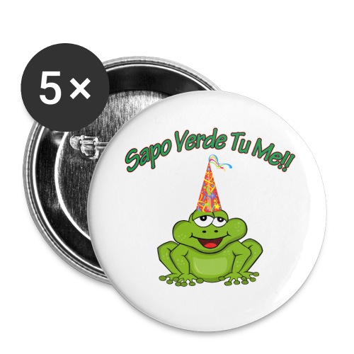 Sapo Verde Tu Me - Large Buttons