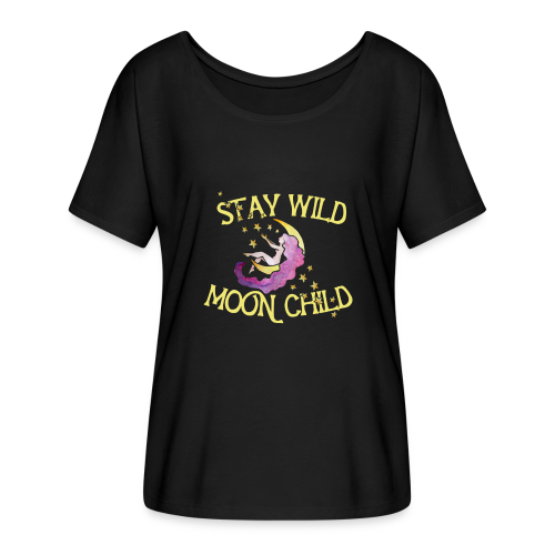 Stay Wild Moon Child - Women's Flowy T-Shirt