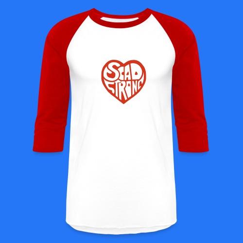Baseball T-Shirt (new design - SCAD strong) - Baseball T-Shirt