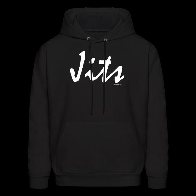Jiu Jitsu - Jits Mens Hoodie - wb - Front