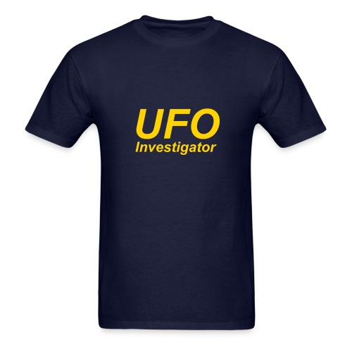 UFO Investigator - Men's T-Shirt