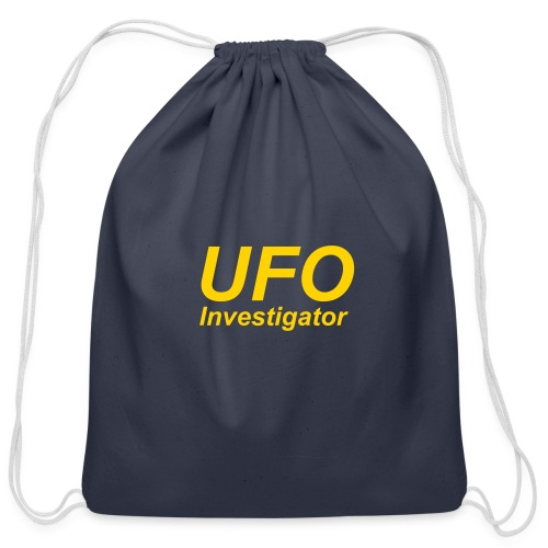 UFO Investigator - Cotton Drawstring Bag
