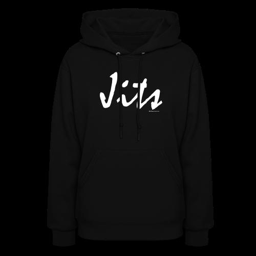 Jiu Jitsu - Jits Womens Hoodie - wb - Front - Women's Hoodie