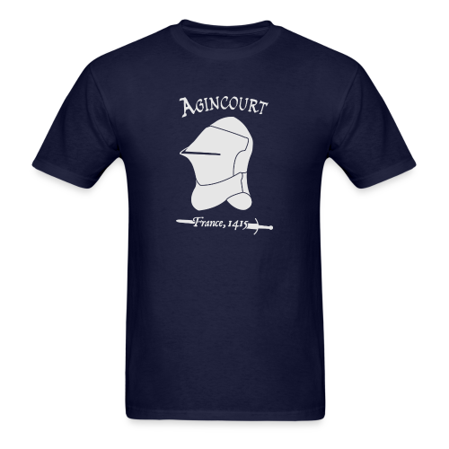 White Agincourt T-Shirt - Men's T-Shirt