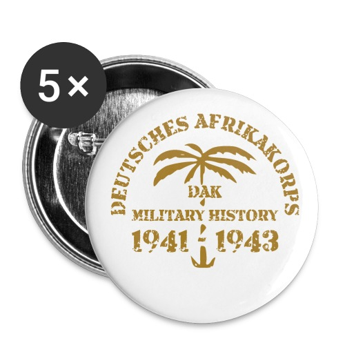 Afrikakorps - Buttons large 2.2'' (5-pack)