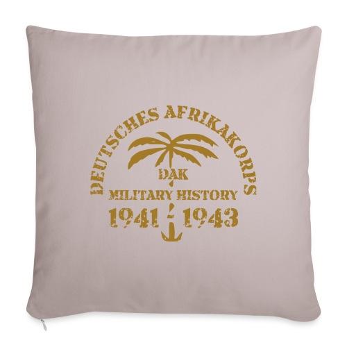 "Afrikakorps - Throw Pillow Cover 18"" x 18"""