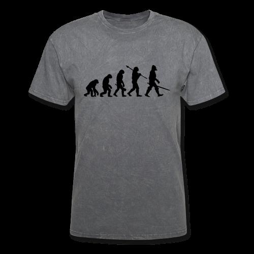 Evolution of the Knight - Men's T-Shirt
