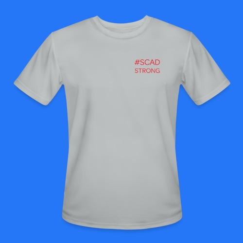 Men's Moisture Wicking Performance T-Shirt grey SCAD strong - Men's Moisture Wicking Performance T-Shirt