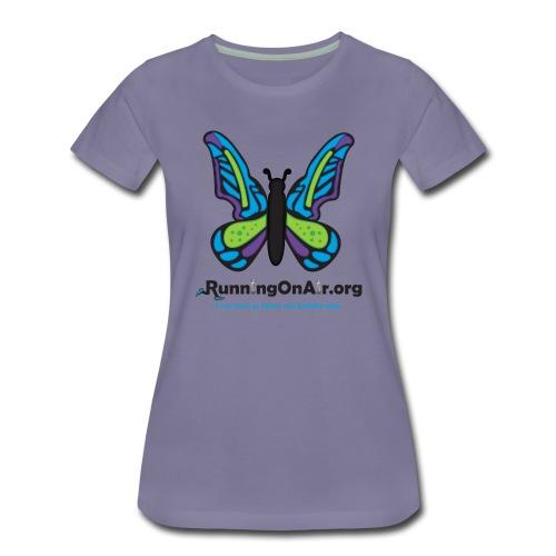 Butterfly dark- Women's Premium T-Shirt - Women's Premium T-Shirt