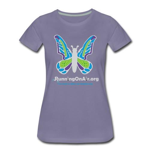 Butterfly light - Women's Premium T-Shirt - Women's Premium T-Shirt