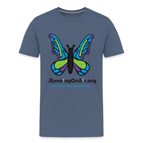 Butterfly dark- Kids' Premium T-Shirt - Kids' Premium T-Shirt