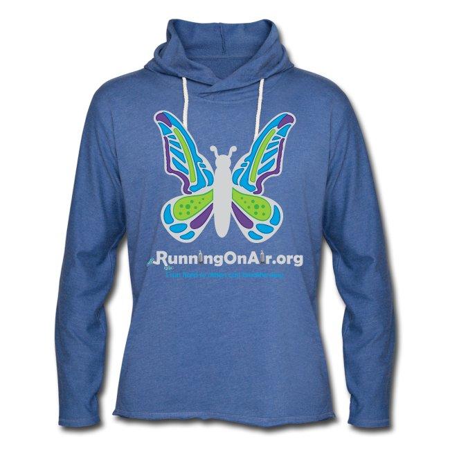 Butterfly light - Unisex Lightweight Terry Hoodie