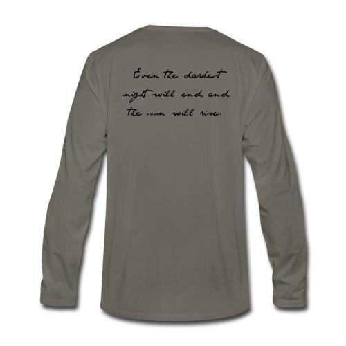 24601   Men's Long-sleeved T-shirt - Men's Premium Long Sleeve T-Shirt