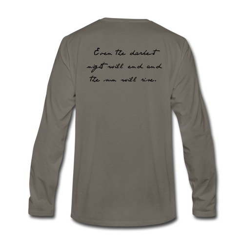 24601 | Men's Long-sleeved T-shirt - Men's Premium Long Sleeve T-Shirt