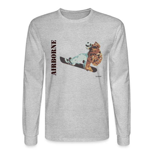 Snowboarder - Airborne Long Sleeve T-shirt - Men's Long Sleeve T-Shirt