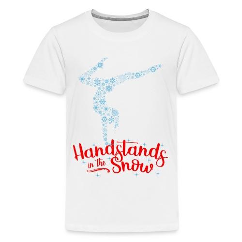 Handstands In The Snow - Kids - Kids' Premium T-Shirt