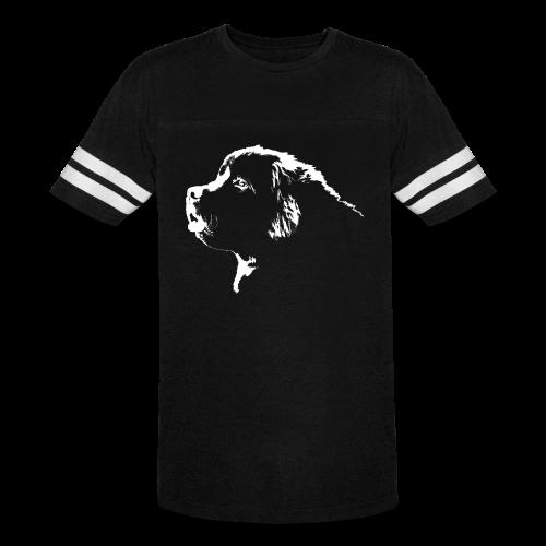 Newfoundland Dog T-shirts Men's Sporty - Vintage Sport T-Shirt