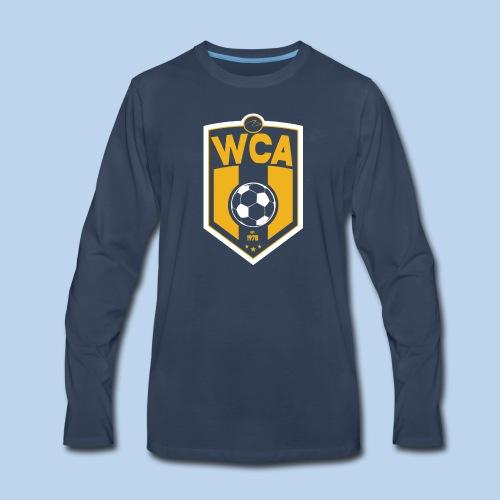 WCA Soccer- Men's LS tee - Men's Premium Long Sleeve T-Shirt