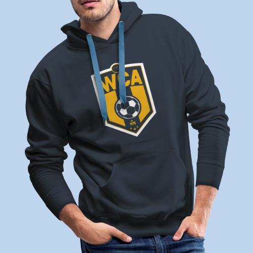 WCA Soccer- Navy Hoodie - Men's Premium Hoodie