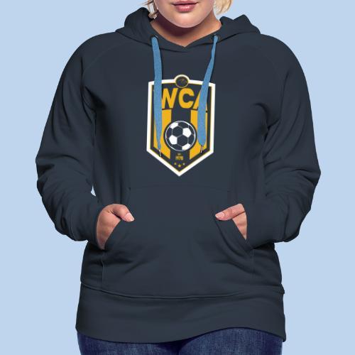 WCA Soccer- Women's Navy Hoodie - Women's Premium Hoodie