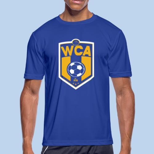 WCA Soccer- Men's Moisture Wick Tee - Men's Moisture Wicking Performance T-Shirt