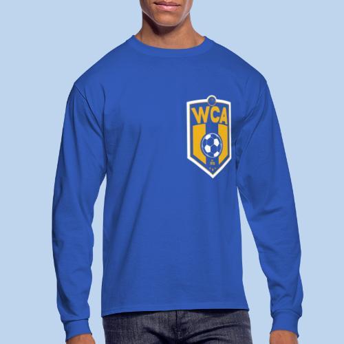 WCA Soccer- Men's offset LS tee - Men's Long Sleeve T-Shirt