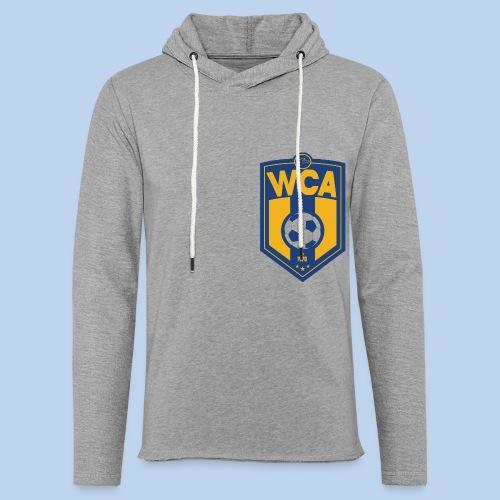 WCA Soccer- Gray offset Terry Hoodie - Unisex Lightweight Terry Hoodie