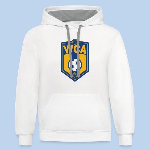 WCA Soccer- Contrast Hoodie - Contrast Hoodie