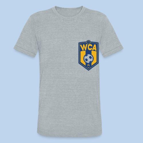 WCA Soccer- Men's Offset Tr-blend Tee - Unisex Tri-Blend T-Shirt