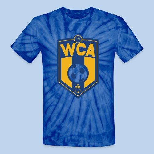 WCA Soccer- Men's tie-dye Tee - Unisex Tie Dye T-Shirt