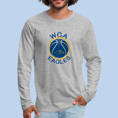 WCA Basketball- Men's LS tee - Men's Premium Long Sleeve T-Shirt