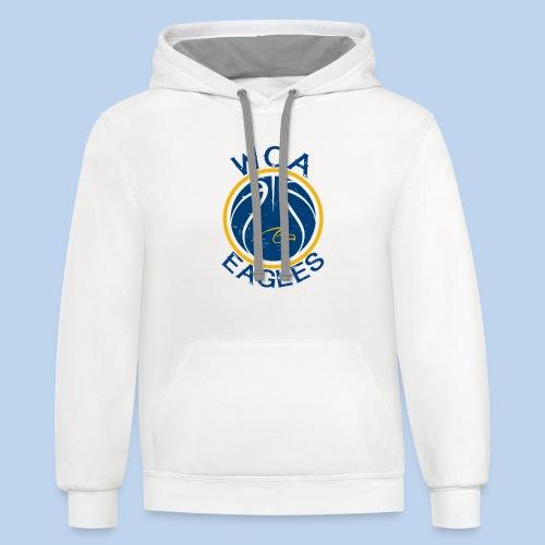 WCA Basketball- Contrast Hoodie - Contrast Hoodie