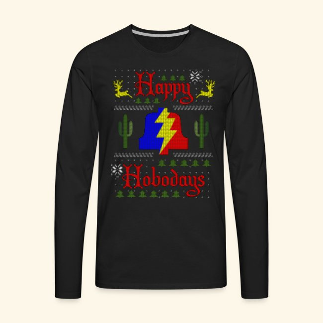Happy Hobodays Long Sleeve T-shirt