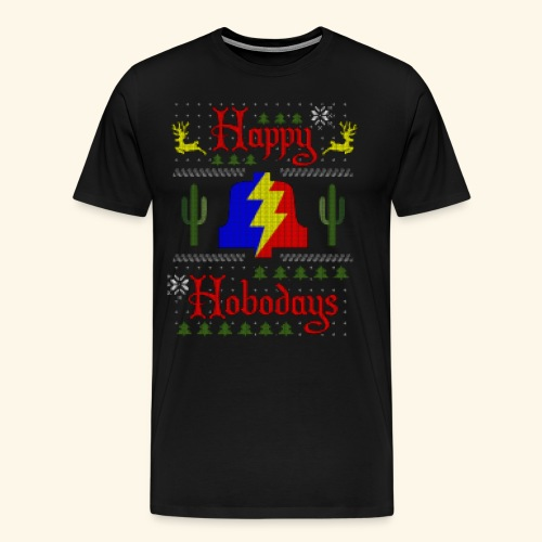 Happy Hobodays T-shirt - Men's Premium T-Shirt