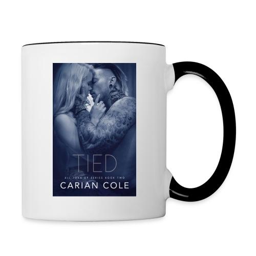 Contrast Mug - Tied - with Fox Art - Contrast Coffee Mug