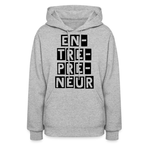 Women's Hoodie - Enunciate all the syllables