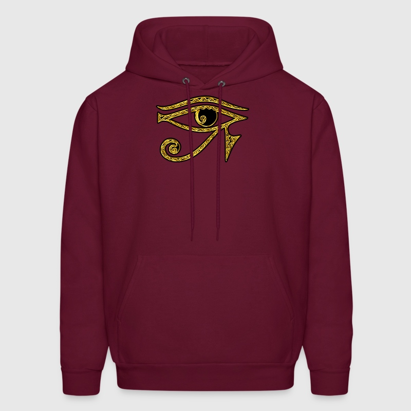 Eye of Horus reverse Moon eye of Thot  I Hoodies - Men's Hoodie