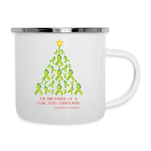 White Edition Lyme Free Christmas Camper Mug - Camper Mug