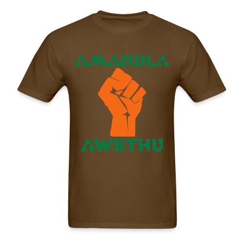 Amandla - Men's T-Shirt