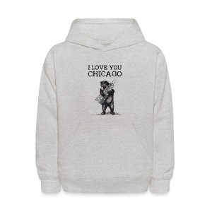 I Love You Chicago - Kids' Hoodie
