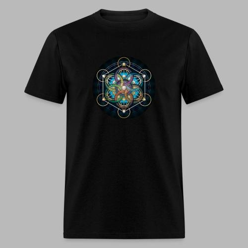 Metatron's Cube Design - Men's T-Shirt
