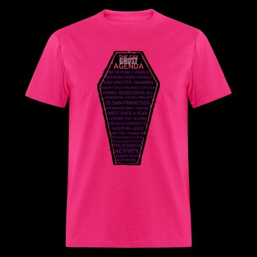 Gay Ghost Agenda Shirt - Men's T-Shirt