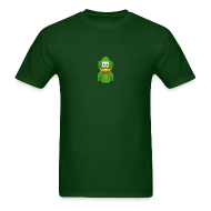 T-Shirts ~ Men's T-Shirt ~ Basic Adiumy Green-on-Green